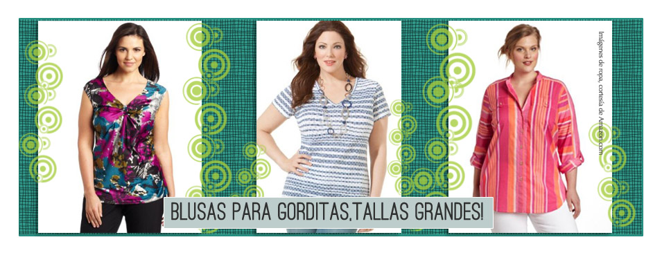 Blusas para Mujeres Tallas Plus - www.NanyTrends.com